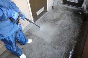 共有スペースの清掃