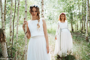 Hippie Brautkleider im Boho Stil