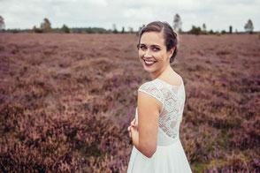 Brautkleid mit Spitze - bio & vegan