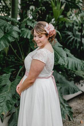 "Brautkleid ""Naomi"" - Curvy Bride"