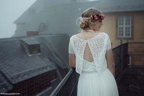 zweiteilige Brautkleider 2019