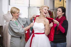 Ihr Brautkleid nach Maß