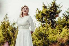 Hochzeitskleid für große Größen