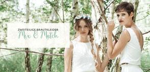 Brautkleid Zweiteiler - MIX & MATCH Kollektion