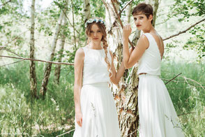 vegane Brautmode - nachhaltig und bio