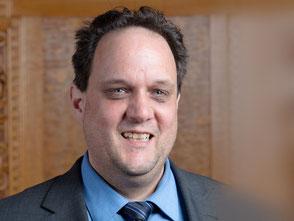 Patrik Kneubuehl im Bundeshaus