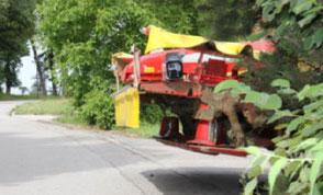 Landwirtschaft Plendl Lenksysteme Lenkhilfen TERRA CARE Reifendruckregelanlagen Kameras Agrar-Software Stickstoffdünger Bodenproben Front-Kamera-System Traktor Satcon Gefahr 1