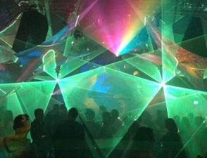 LAsershow , Wismar,Buchen Lasershow