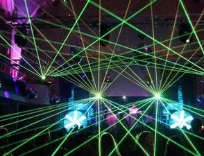 Lasershow,Pangolin Laser, Lasershow für ihr Event