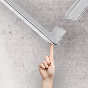 Pixlip GO Messesystem von Schweden Display