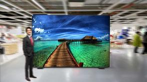 Leuchtkasten im Format 300 x 200cm von Schweden Display