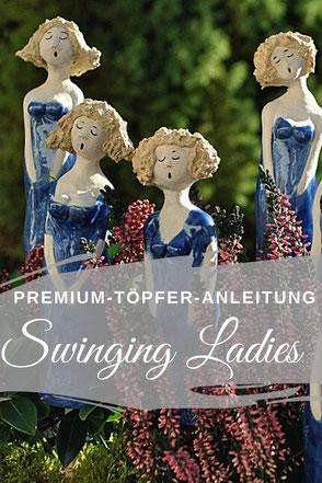 Swinging Ladies selbst töpfern