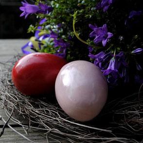 Osterkeramik Eier aus Steinzeug