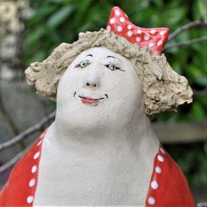 Keramikfigur frostfeste Gartenkeramik
