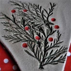 Weihnachtskeramik