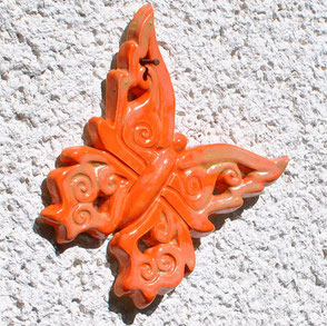 Schmetterling aus Keramik