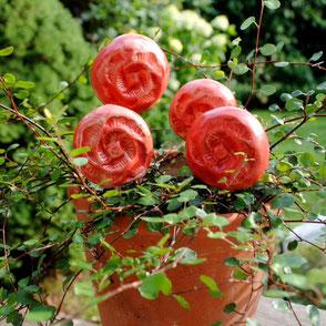 Blüten selber töpfern