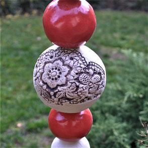 Stele für den Garten
