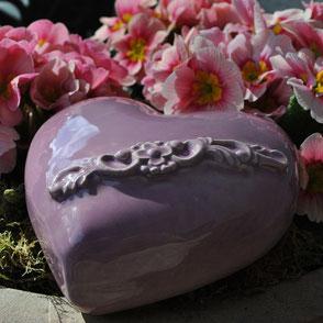 Gartenkeramik Herz