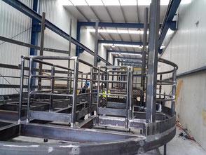 Schweißfertigungsüberwachung Stahlbau
