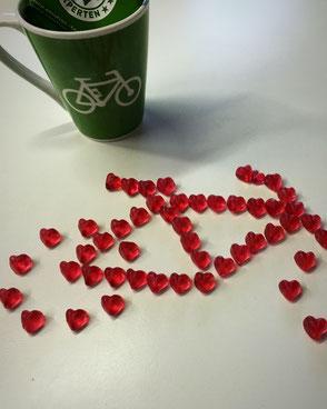 e-Bike aus Gummibärchen