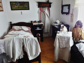 Das Museum stellt die Einrichtung einer Wohnung um 1900 dar