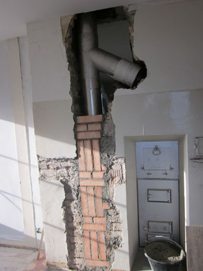 Staffieri Kamin Kaminsanierung Chromstahl Kunststoff