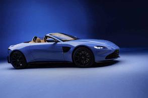 Aston Martin New Vantage V8 twinturbo Roadster Vane Grill