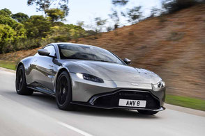 Aston Martin New Vantage V8 twinturbo hunter grille