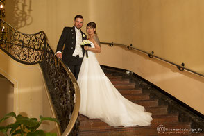 Hochzeitsfotografie Leipzig - Brautpaarshooting im Ringcafé Leipzig