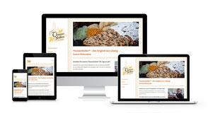 Responsiver Internetauftritt der Verlag Bodak GmbH