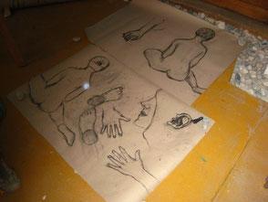 Aktzeichnen und Malerei @ Werkstatt Murberg Mag. Axl Litsche 03