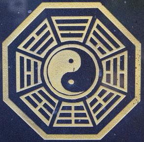 FuXi BaGua Trigramme chinesische Kultur Symbol Ausgleich