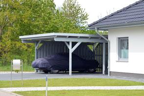 CARPORTS, STILVOLLER SCHUTZ FÜRS AUTO