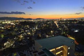 屋上からの景色(夜景)
