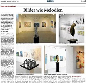 Presseartikel Ebersberger Zeitung vom 26.08.2010