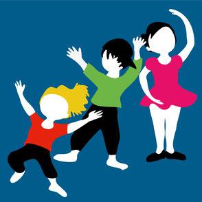 Caramba  wir geben Kinderkurse im Kindertanz, Breakdance, Tanz & Zirkus, Modern Dance, Zeitgenösischen Tanz, Improvisation, Ballett, Hip hop, Streetdance