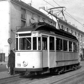 Niesky-Wagen in Potsdam