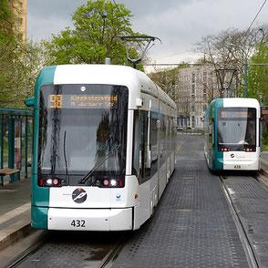 Variobahn in Potsdam