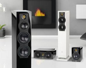 ELAC Lautsprecher in Größe und Anspruch individuell
