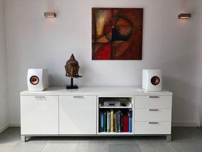 KEF Lautsprecher passen sich jedem Wohnraum an