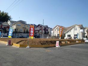 横浜市緑区 ヤマト建設施工事例 三保町4区画分譲