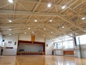横浜市緑区 ヤマト建設 建設事業実績 中学校体育館改修工事