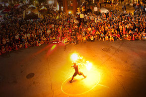 Pancho Libre Fire Performances