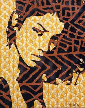 Zahira 33 x 41 cm