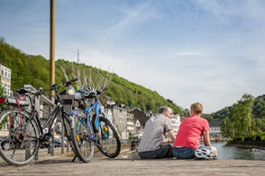 Radfahren Altena Lenneroute