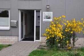 Fachdienste Autismus, Angela Eusterbrock, Steinfurt, Leistungen, Eingliederungshilfe, Eingang, Gebäude, Drakenkamp