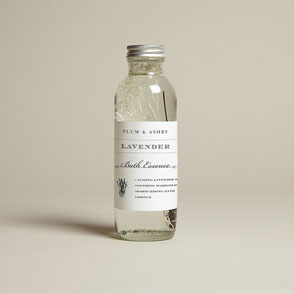 Plum & Ashby natural organic lavender bath essence