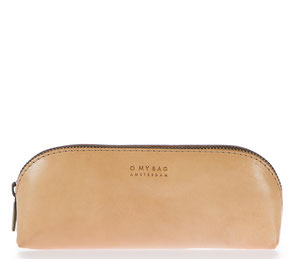 O My Bag eco leather pencil case natural slow office
