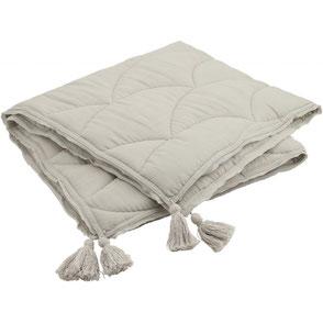 organic cotton baby quilt konges slojd